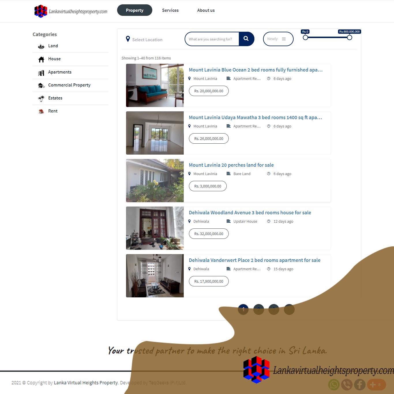 Lanka Virtual Heights Property